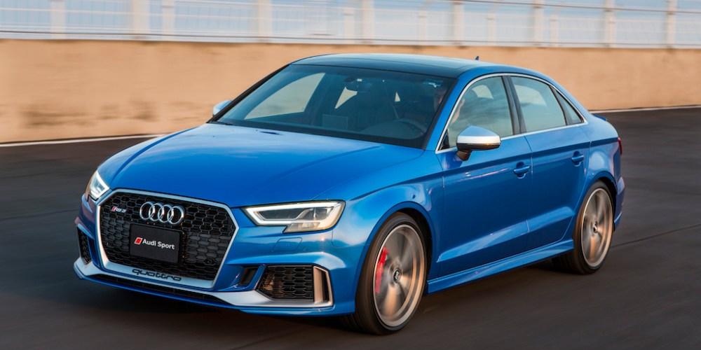 Audi presenta en México al TT RS, RS  3 Sedán y R8 Spyder.