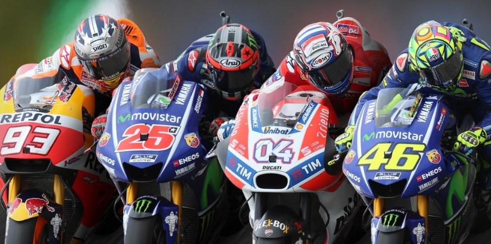 Cuatro pilotos han liderado el Campeonato de MotoGP