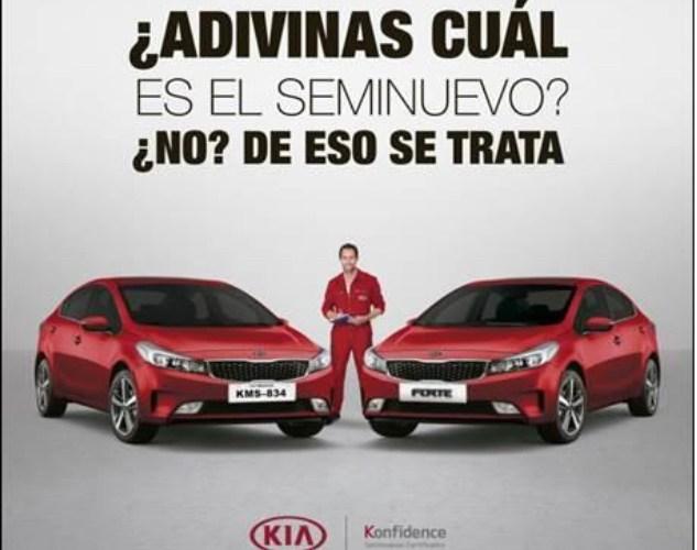 KIA Motors México lanza KIA Konfidence, un buen programa para semi nuevos