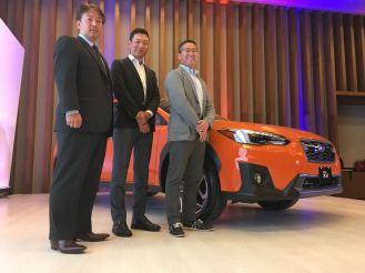 Ejecutivos de Subaru de Japón estuvieron en México para este importante evento.