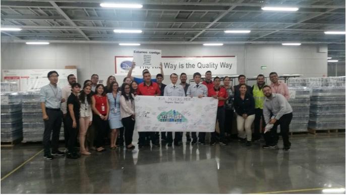 KIA Motors en unión con el pueblo mexicano después de la tragedia.
