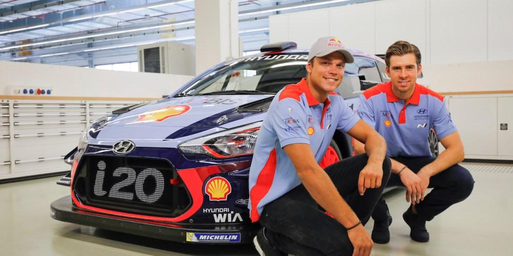 Andreas Mikkelsen firma con HMSG para WRC 2018 y 2019