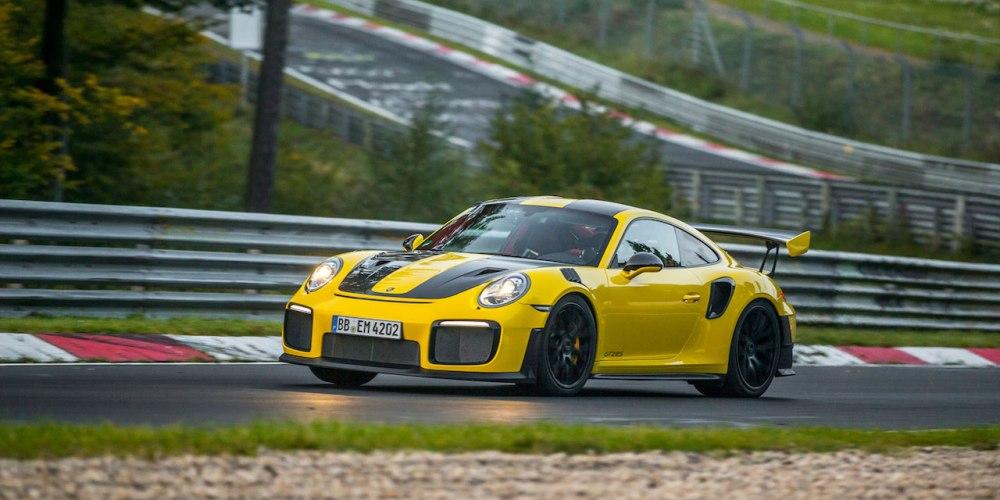 El GT2 se convierte en el Porsche 911 más rápido de todos los tiempos