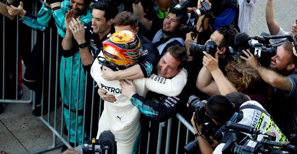 Hamilton podría coronarse Campeón en el Gran Premio de los Estados Unidos
