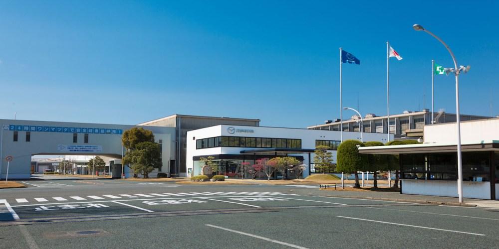 Mazda inicia la producción del CX-5 en la planta de Hofu, Japón