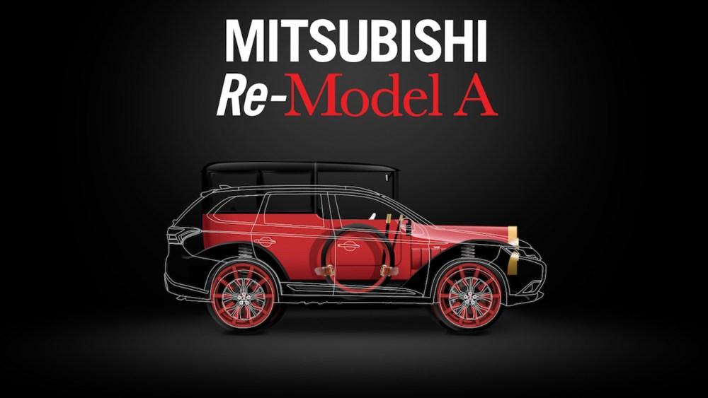 """Mitsubishi Re-Model A hará su debut en televisión en un episodio especial de """"West Coast Customs"""""""