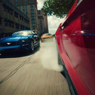 5. Mustang Pista Carreras