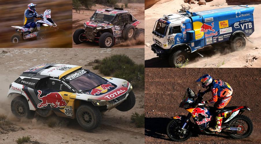 ¡El Rally Dakar 2018 ya casi comienza!
