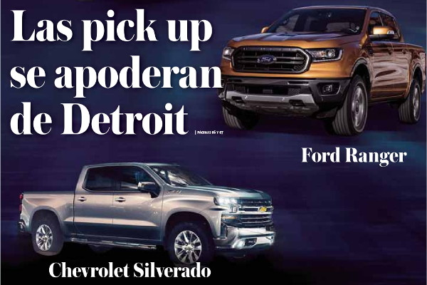 Las pick up se apoderan de Detroit