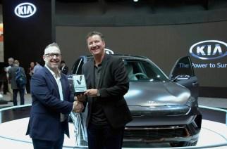 KIA se lleva otro premio con el Niro EV Concept