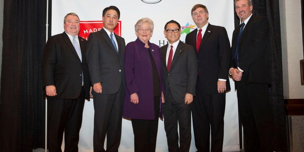 Toyota y Mazda invierten hasta mil 600 millones de dólares en una nueva planta en Alabama EE. UU.