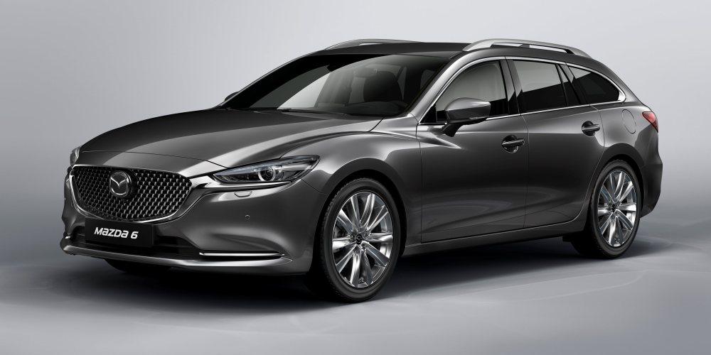 La bola de cristal: Mazda presentará el Mazda6 Wagon con SKYACTIV-X