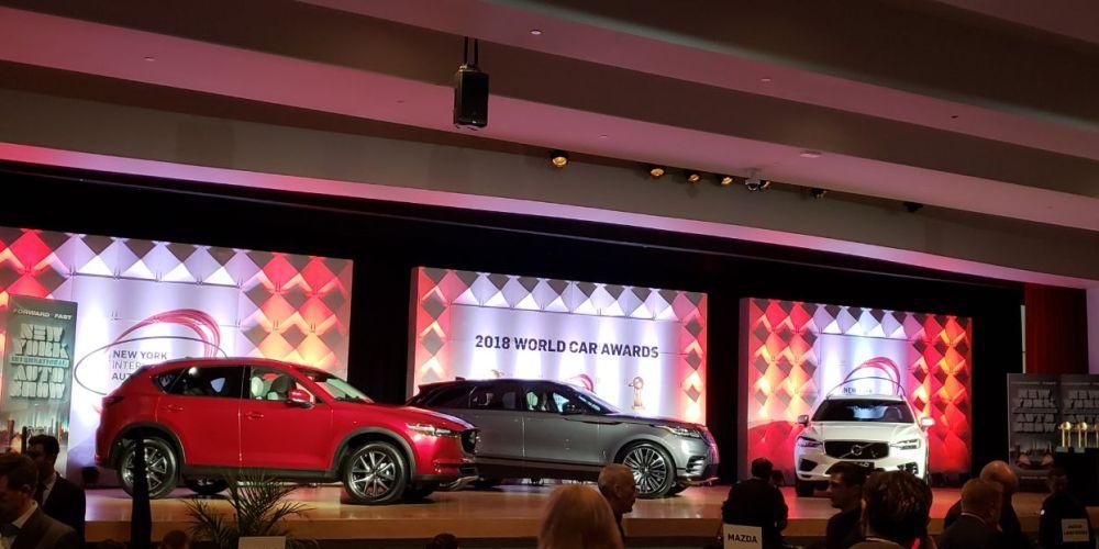 Volvo XC60 es el Auto del Año por los World Car of the Year Awards de Nueva York