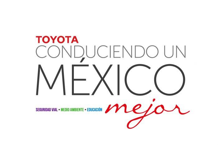 Toyota México apoyará proyectos que fomenten la seguridad vial