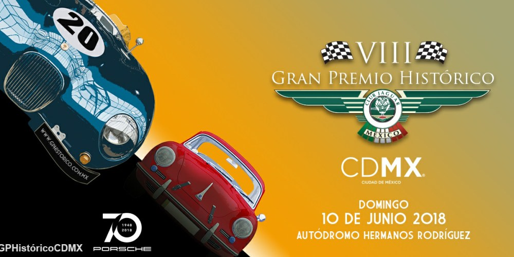 El Gran Premio del automovilismo clásico fue presentado: VIII Gran Premio Histórico de la CDMX