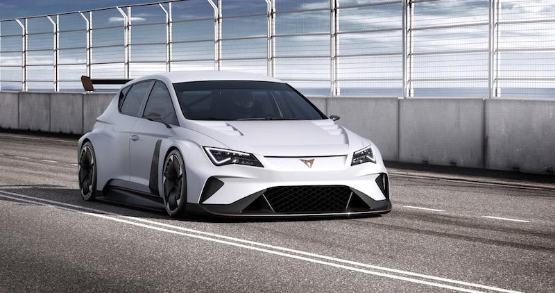 CUPRA e-Racer, 100% eléctrico en la pista