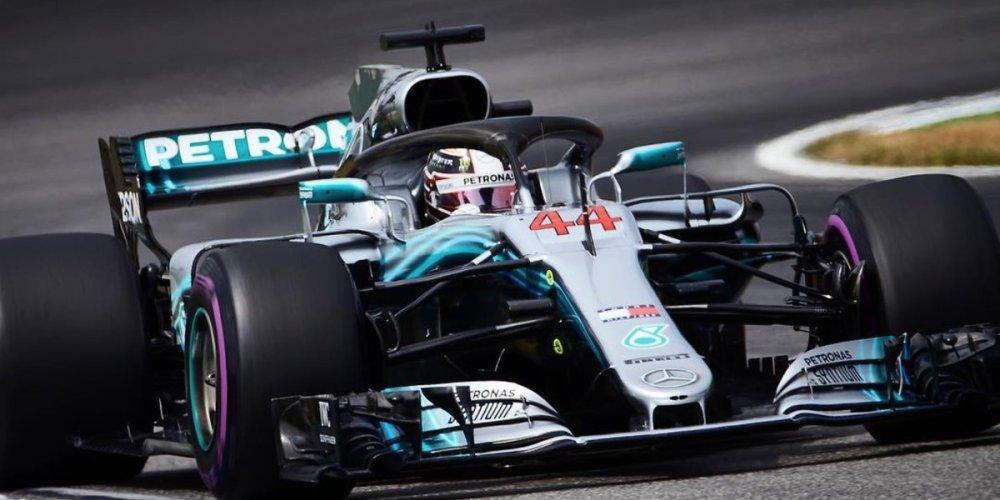 Hamilton gana un impredecible Gran Premio de Alemania