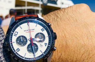 Del por qué la atracción por los autos y relojes: Montblanc y Goodwood