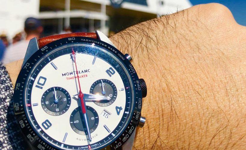 El por qué de la atracción por los autos y relojes: Montblanc y Goodwood