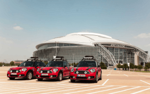 Tres MINI Cooper S E Countryman ALL4 viajan de Texas a Argentina