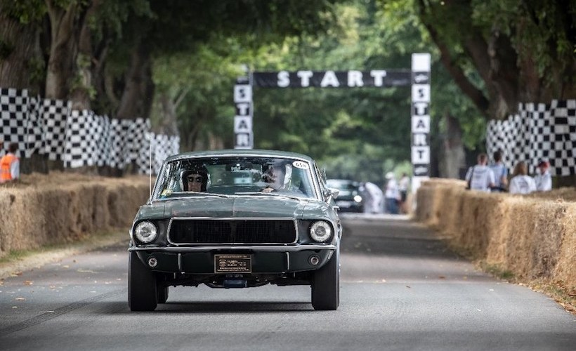 Goodwood hace los honores al legendario Mustang Bullitt