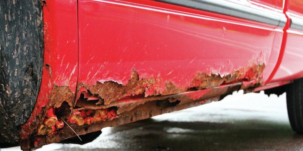 Cómo eliminar el óxido de tu auto