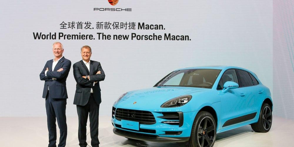 Porsche Macan 2019, presentada mundialmente en Shanghai