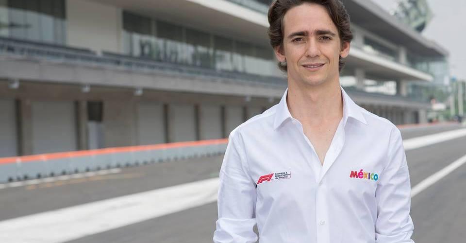 Esteban Gutiérrez es nombrado embajador del Gran Premio de México