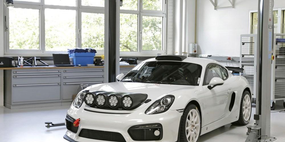 Porsche Cayman GT4 Clubsport apoyará en el Rally de Alemania