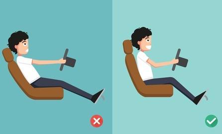Cómo evitar el dolor de espalda al conducir
