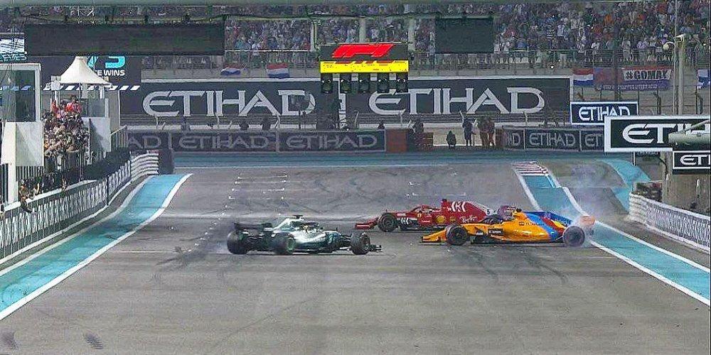 Lewis Hamilton domina en Abu Dhabi y Alonso se despide
