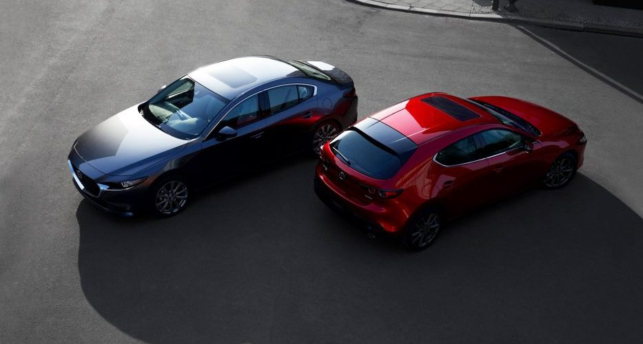 "Nuevo Mazda 3: ""The car as art"""