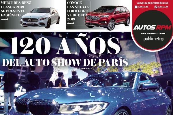 120 años del auto show de París