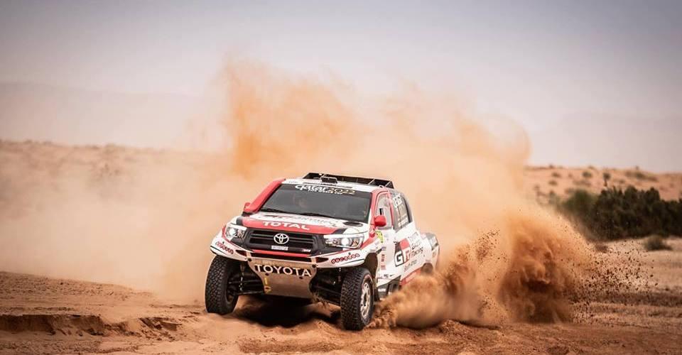 Alonso hará un test con el Toyota del Dakar