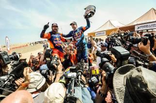 Al-Attiyah consigue su tercera corona en el Dakar 2019