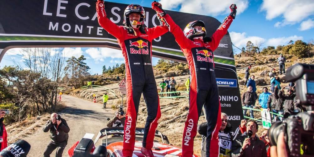Sébastien Ogier consigue su sexto Montecarlo consecutivo