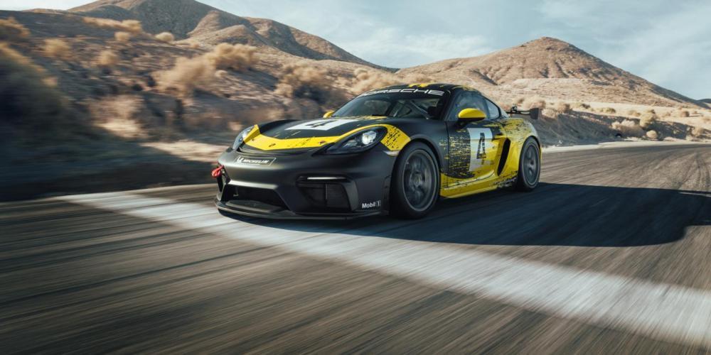 Porsche presenta el 718 Cayman GT4 Clubsport