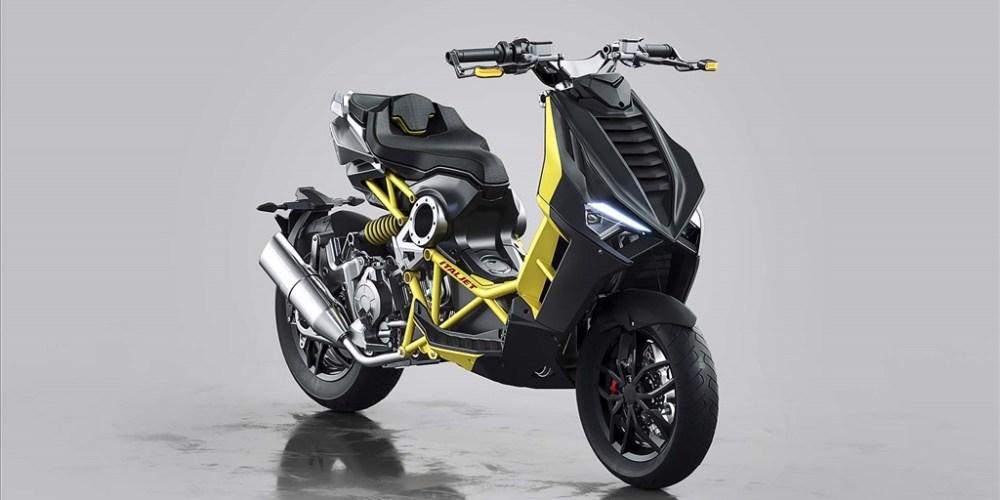 Scooter al estilo Mad Max: Italjet Dragster