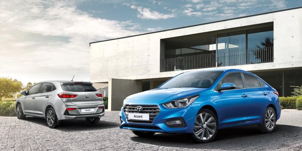 Hyundai coloca 901 unidades del Accent en México solo en enero
