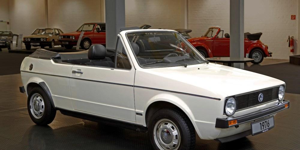 Volkswagen celebra 40 años de su museo en Bremen con un  Golf Cabriolet