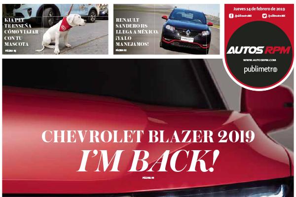Chevrolet Blazer 2019 I'm Back!