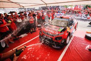 Quinta victoria para Ogier en el Rally México