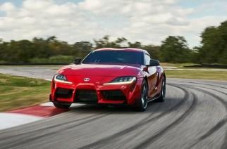 Pilotos de Toyota Gazoo Racing prueban el Supra