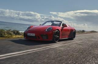 Porsche 911 Speedster 2019, solo 1,948 unidades
