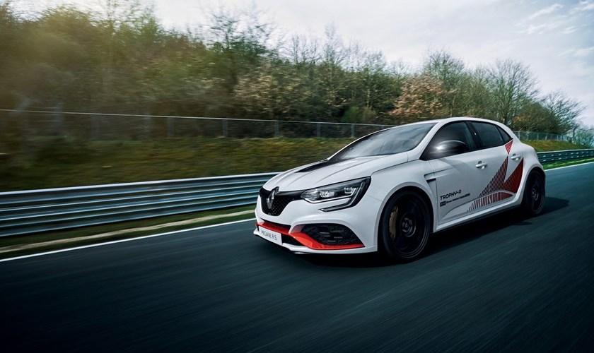 El nuevo Renault Megane R.S TROPHY-R impone récord en Nürburgring