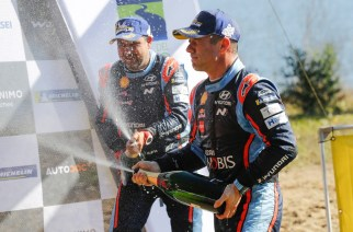 Loeb y Elena consiguen podio en el Rally de Chile