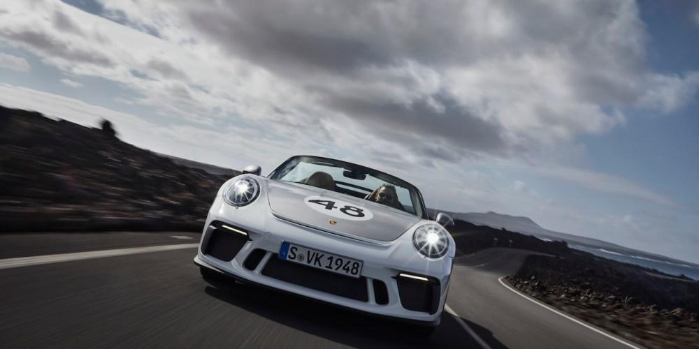 El Porsche 911 Speedster ya está en producción