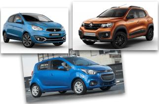 Tres de los autos nuevos 2019 a la venta más económicos en México