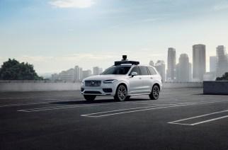 Volvo y Uber presentan vehículo autónomo