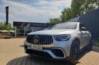 Mercedes-AMG GLC 63 S llegará pronto a nuestro mercado, y así se maneja…